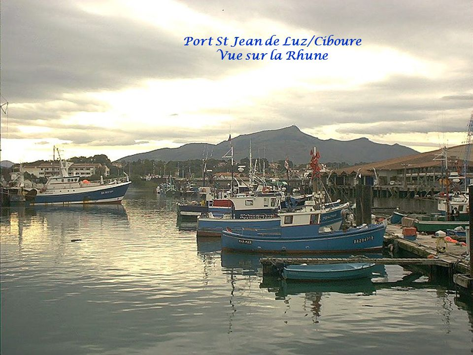 Port St Jean de Luz/Ciboure