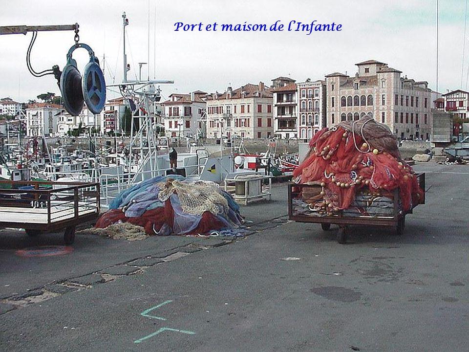 Port et maison de l'Infante