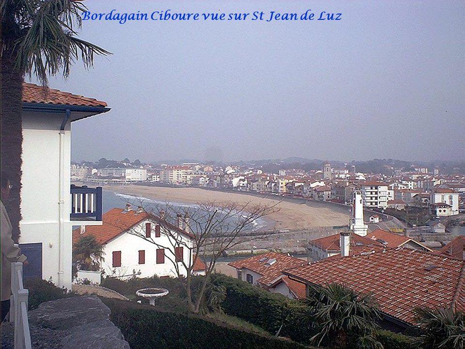 Bordagain Ciboure vue sur St Jean de Luz
