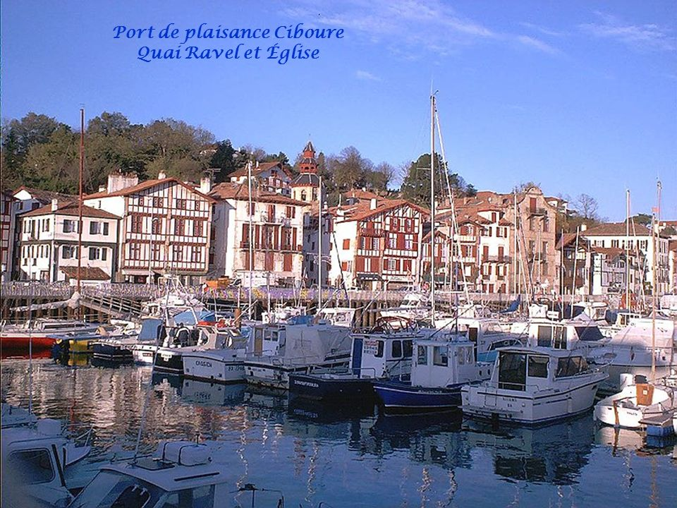 Port de plaisance Ciboure