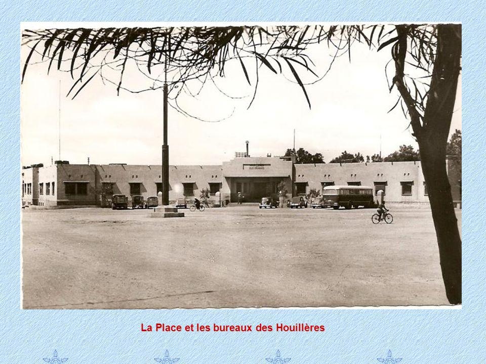 La Place et les bureaux des Houillères
