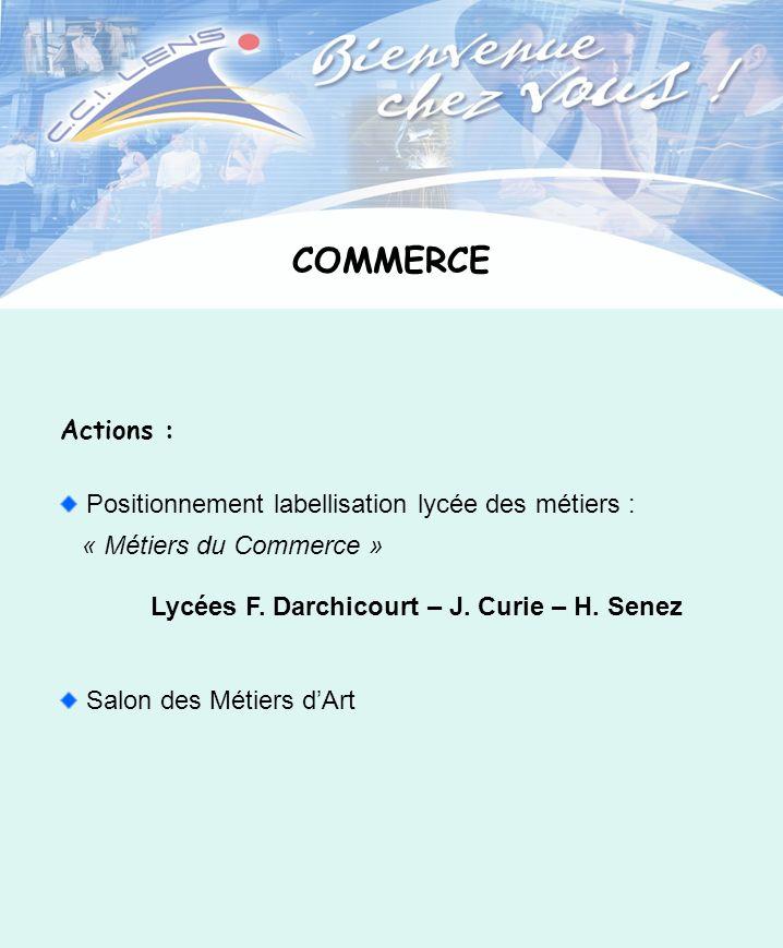 Lycées F. Darchicourt – J. Curie – H. Senez