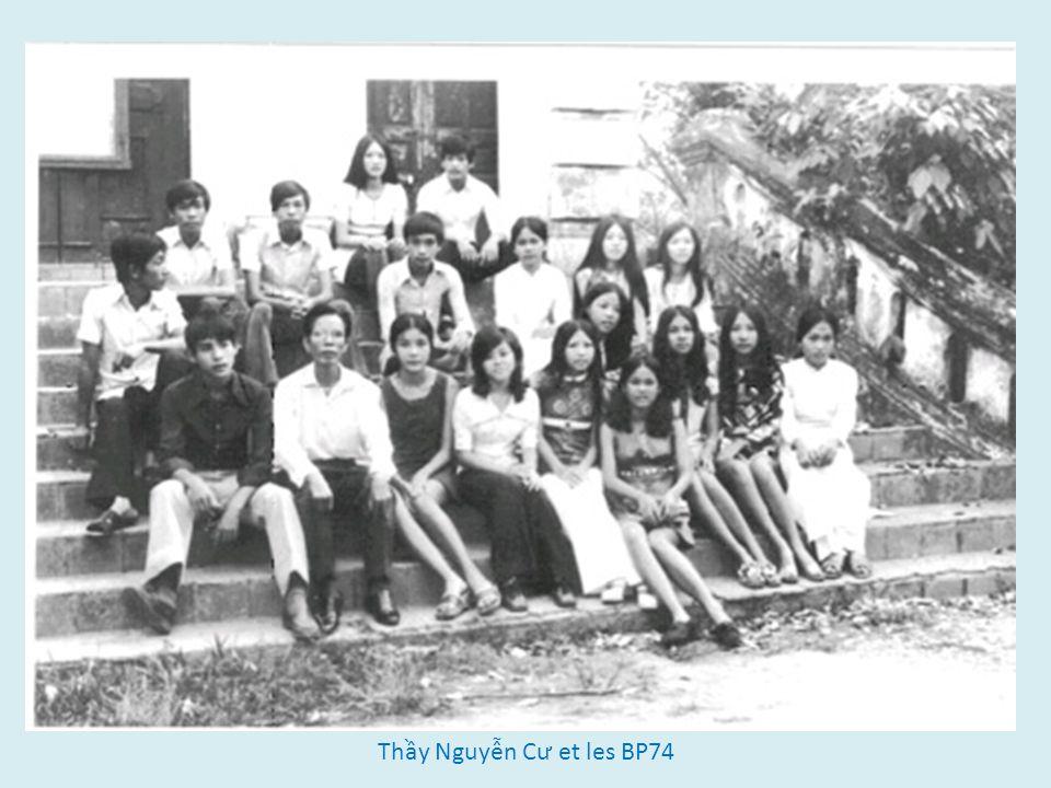 Thầy Nguyễn Cư et les BP74