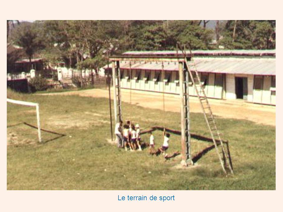 Le terrain de sport