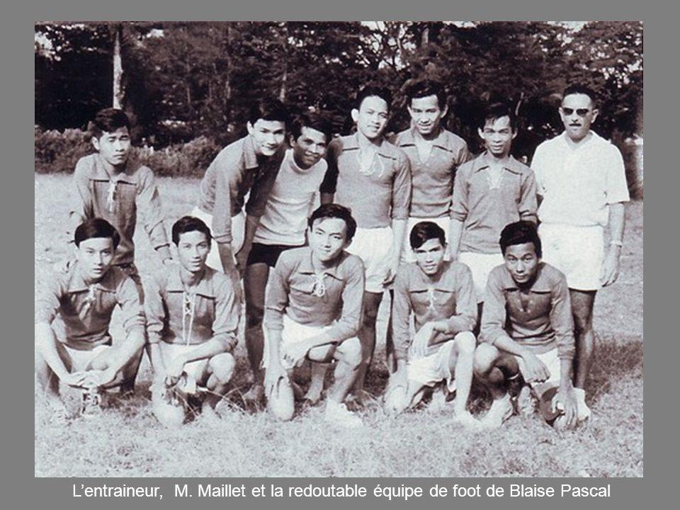 L'entraineur, M. Maillet et la redoutable équipe de foot de Blaise Pascal