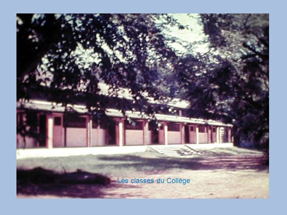 Les classes du Collège