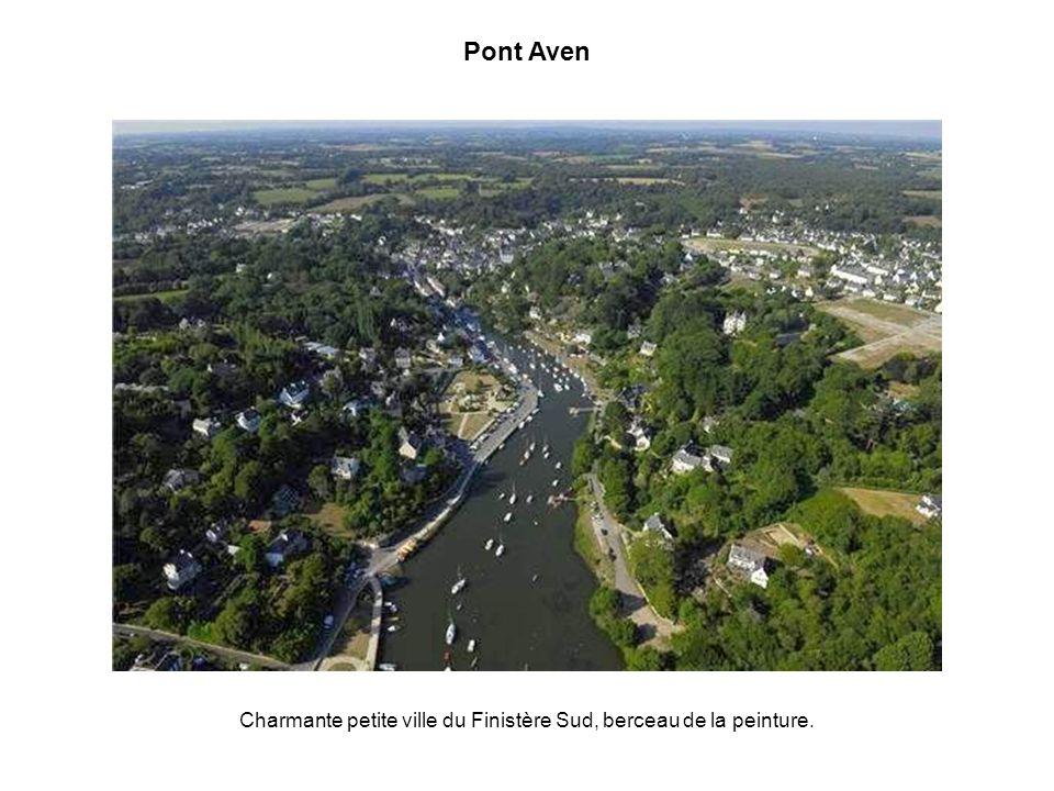 Charmante petite ville du Finistère Sud, berceau de la peinture.