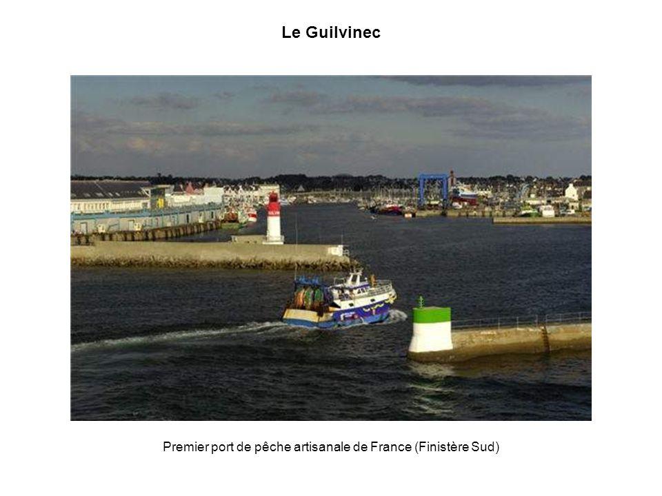 Premier port de pêche artisanale de France (Finistère Sud)