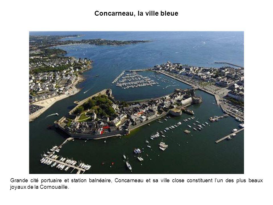 Concarneau, la ville bleue
