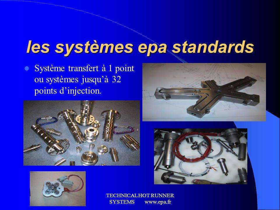 les systèmes epa standards