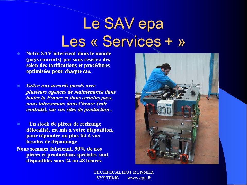 Le SAV epa Les « Services + »