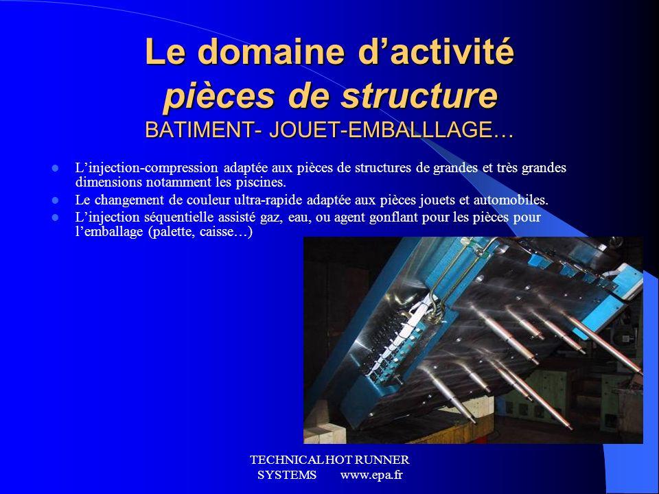 Le domaine d'activité pièces de structure BATIMENT- JOUET-EMBALLLAGE…