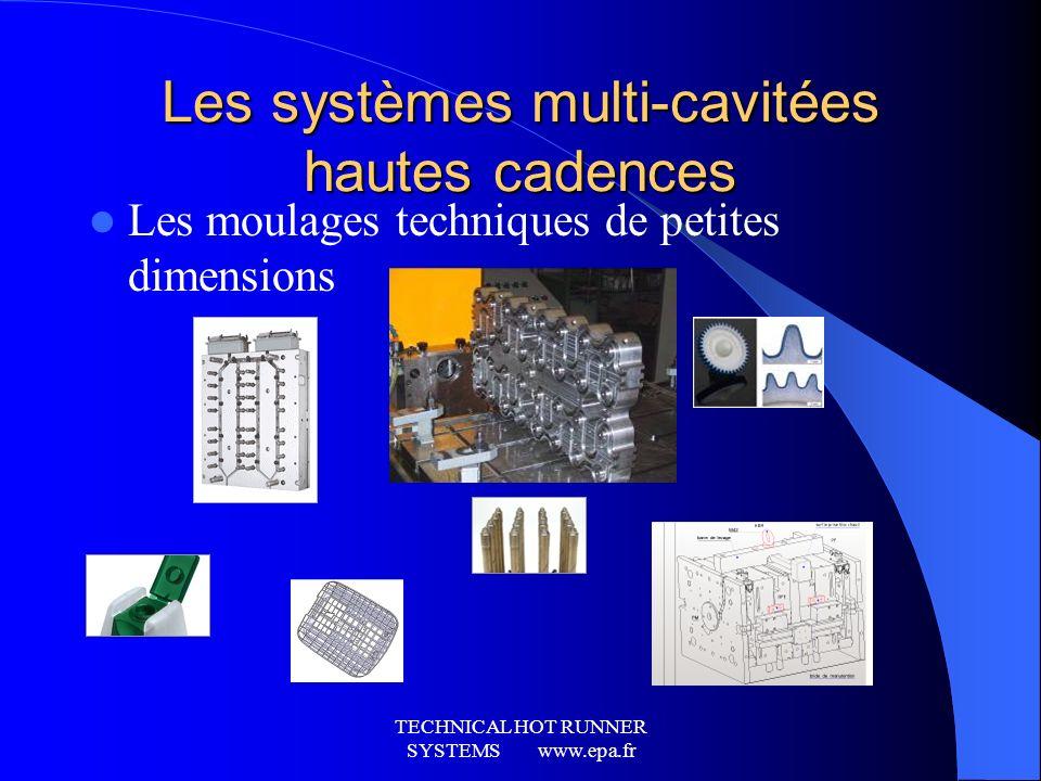 Les systèmes multi-cavitées hautes cadences