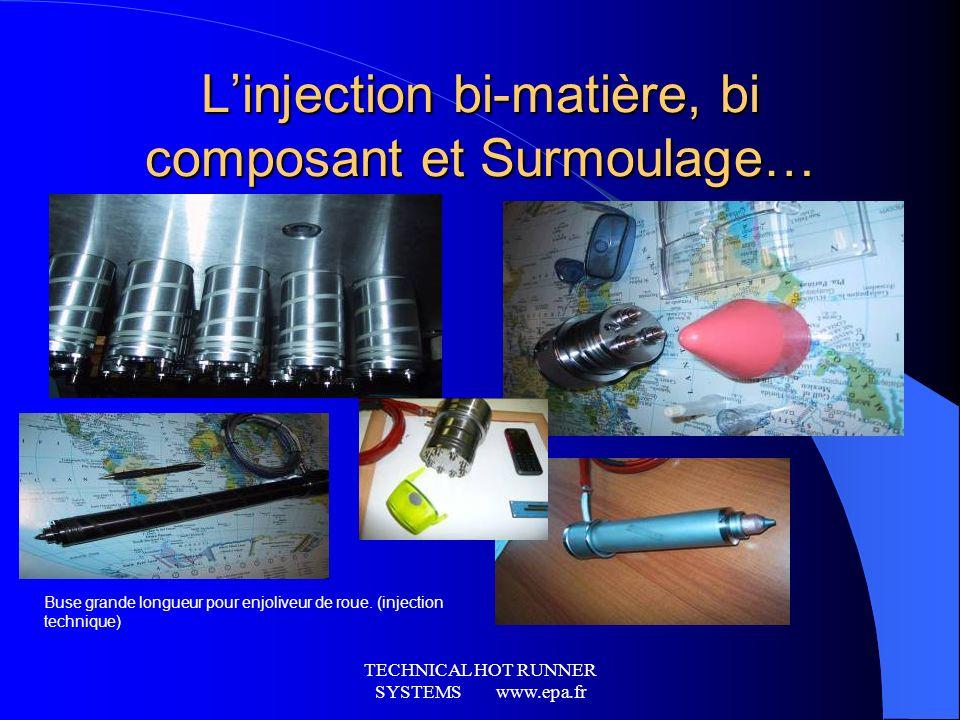 L'injection bi-matière, bi composant et Surmoulage…