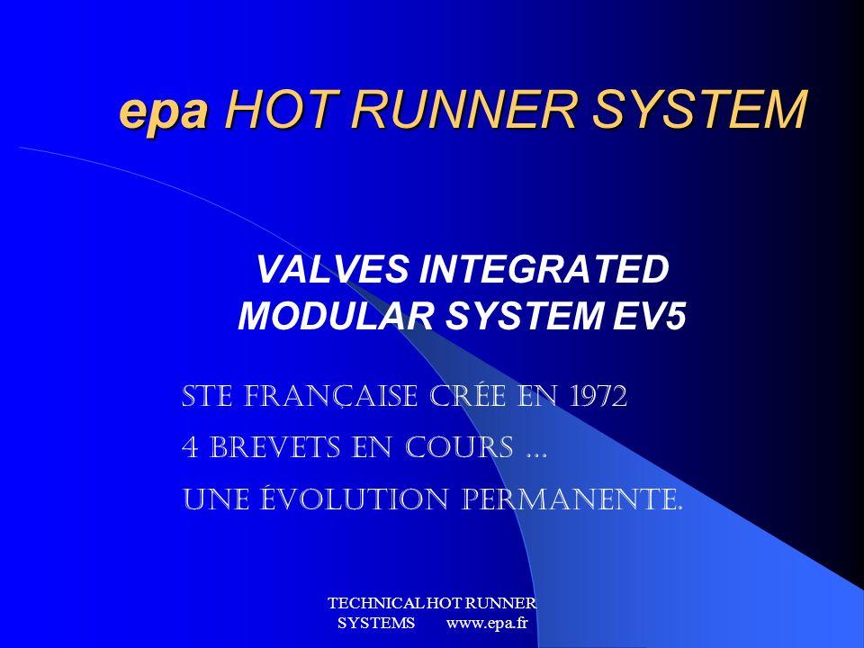 VALVES INTEGRATED MODULAR SYSTEM EV5