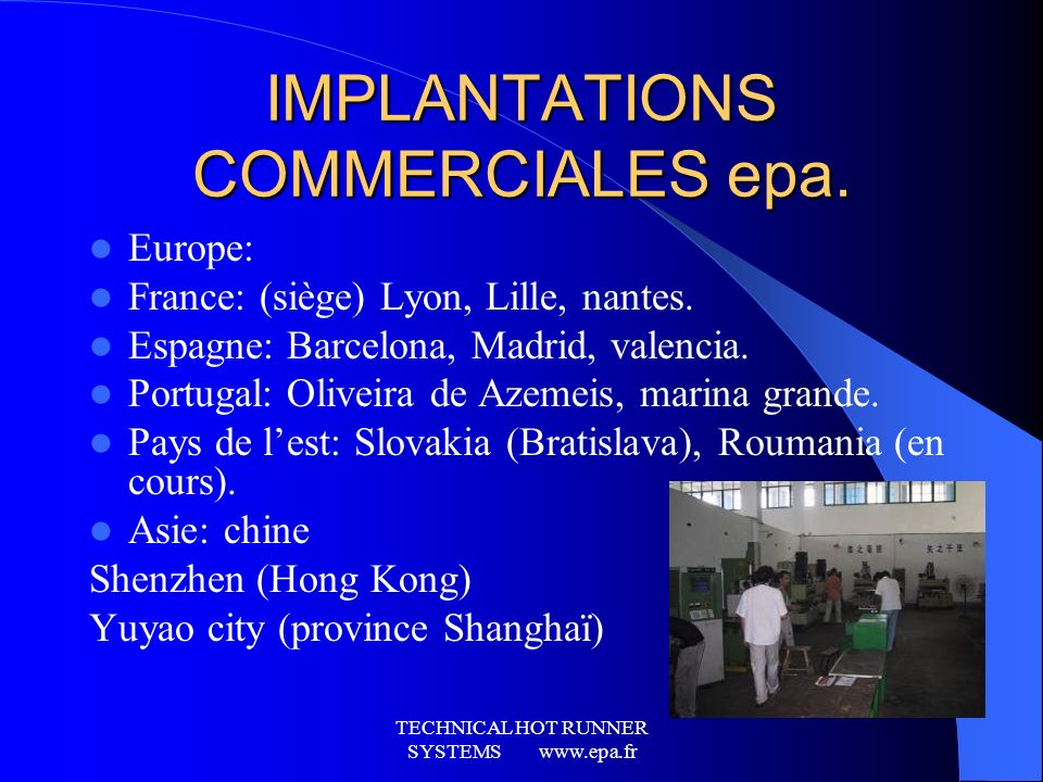 IMPLANTATIONS COMMERCIALES epa.