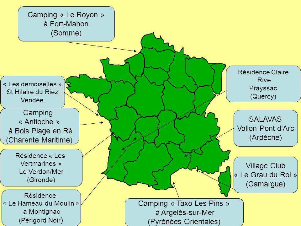 Camping « Taxo Les Pins » à Argelès-sur-Mer (Pyrénées Orientales)