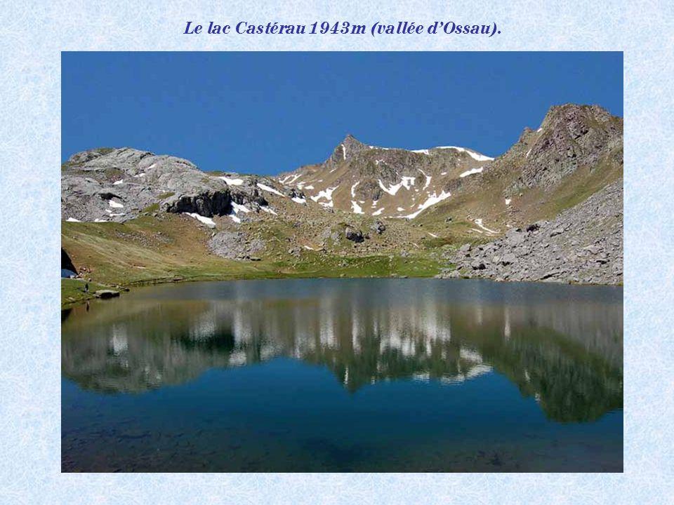 Le lac Castérau 1943m (vallée d'Ossau).