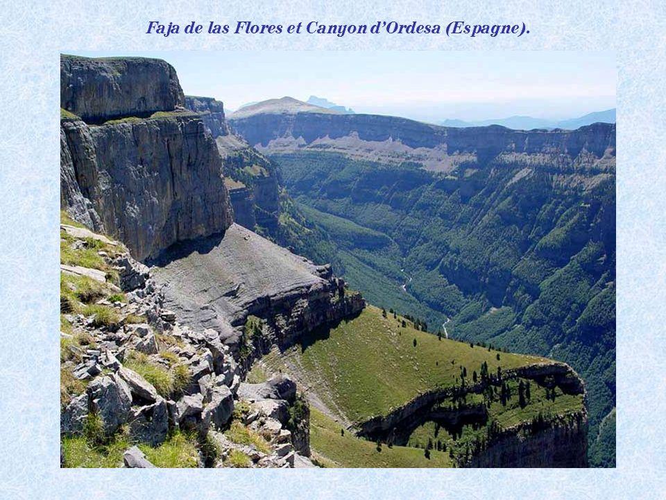 Faja de las Flores et Canyon d'Ordesa (Espagne).
