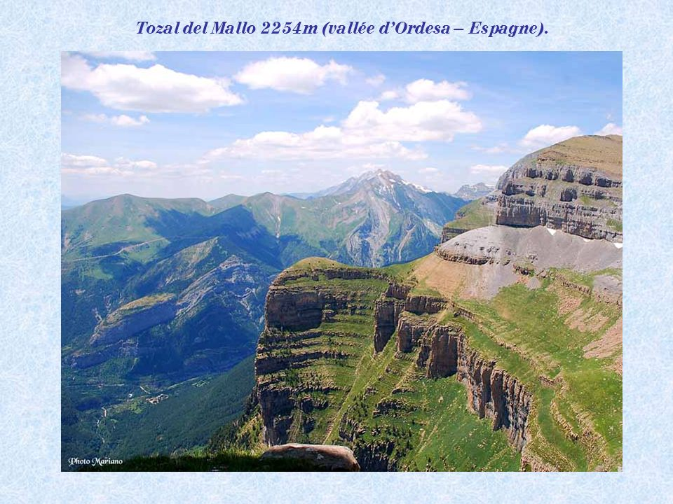 Tozal del Mallo 2254m (vallée d'Ordesa – Espagne).