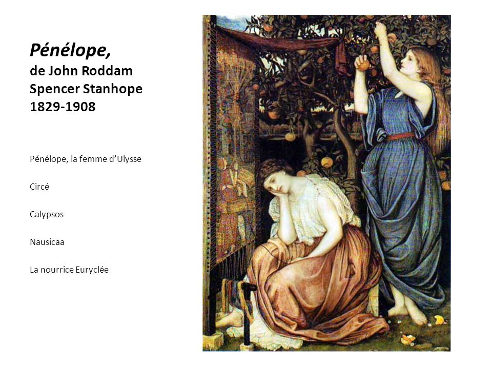 Pénélope, de John Roddam Spencer Stanhope 1829-1908