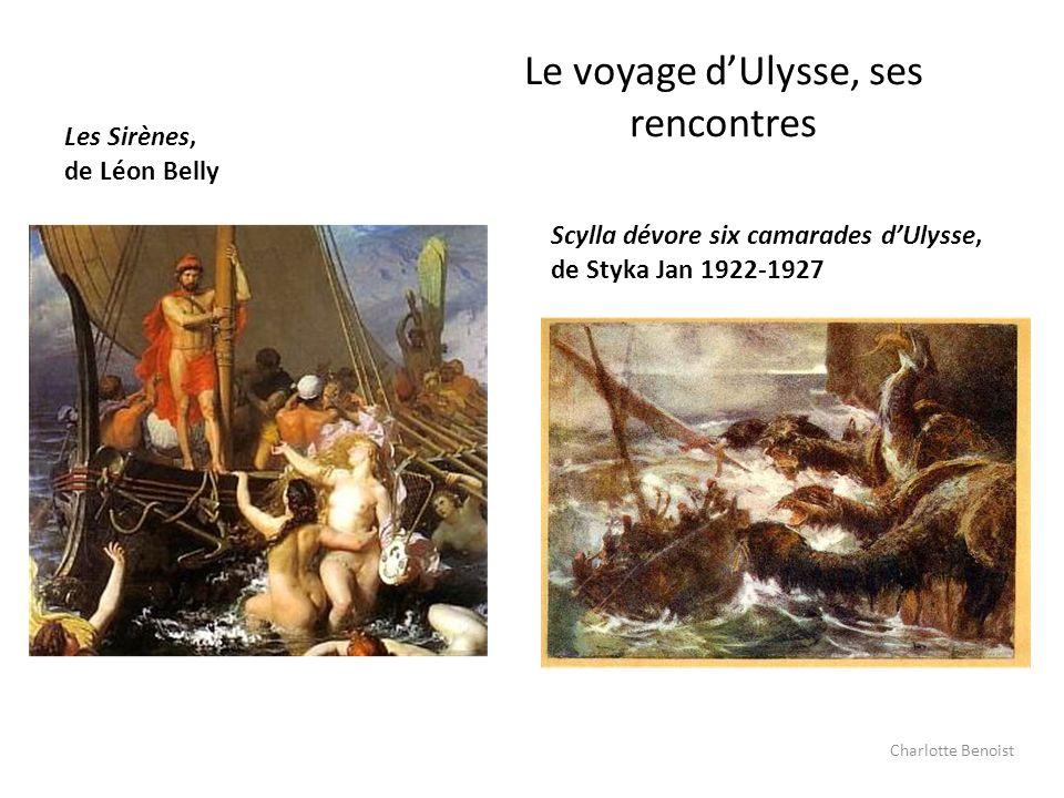 Le voyage d'Ulysse, ses rencontres
