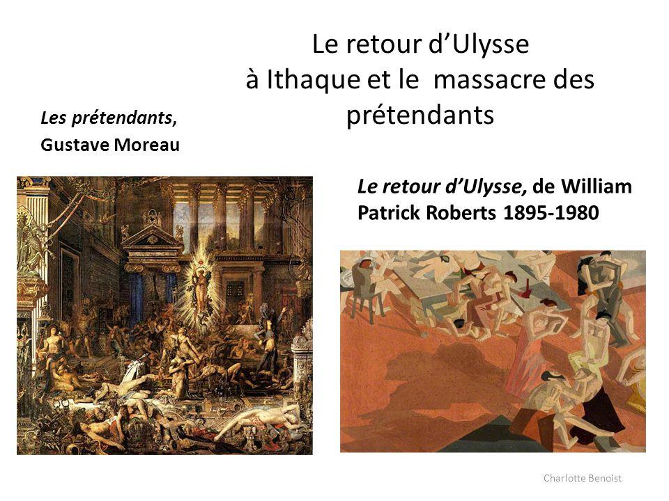 Le retour d'Ulysse à Ithaque et le massacre des prétendants