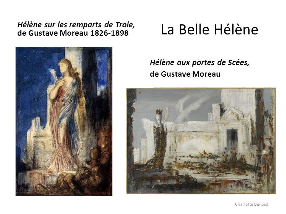 Hélène sur les remparts de Troie, de Gustave Moreau 1826-1898