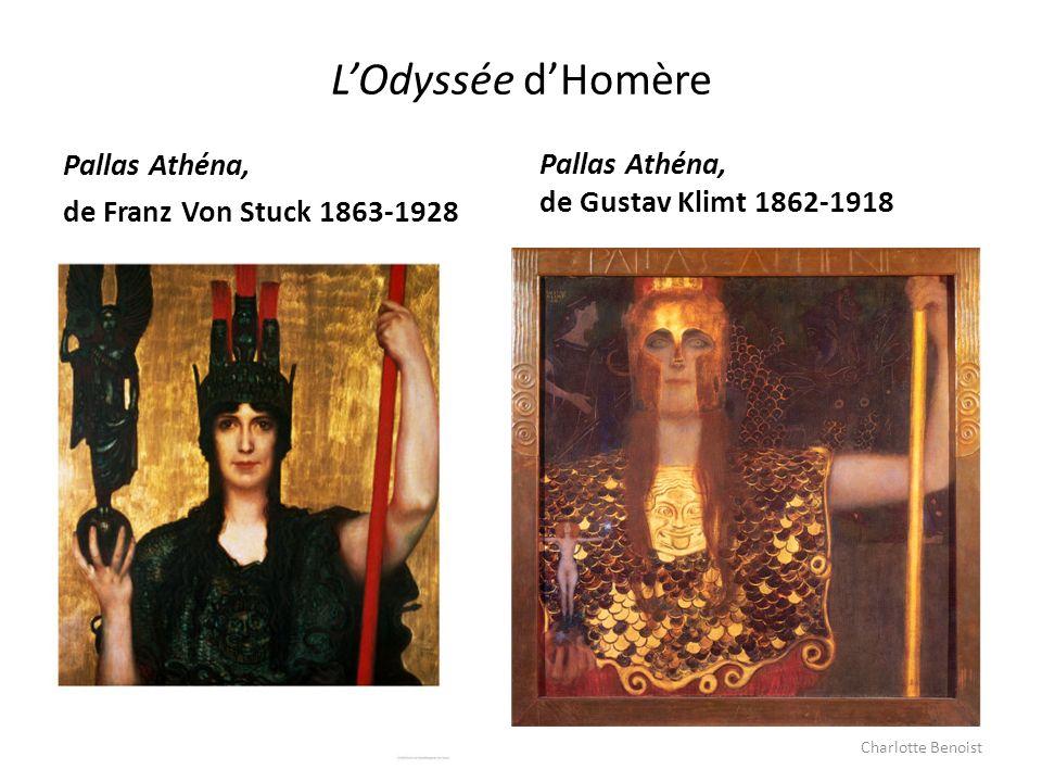 L'Odyssée d'Homère Pallas Athéna, Pallas Athéna,