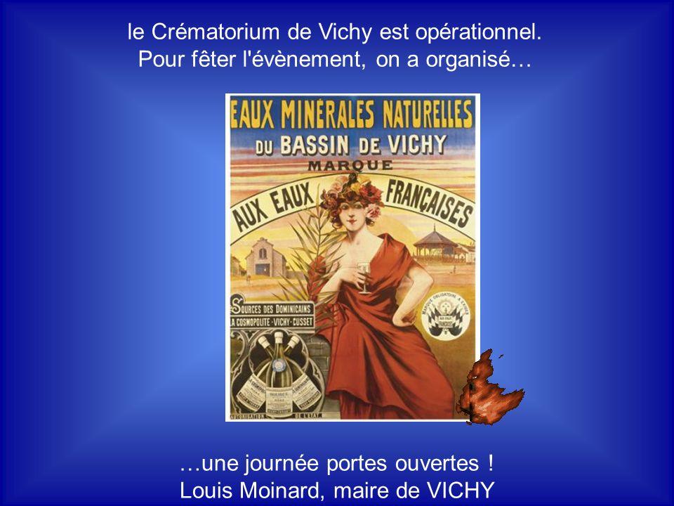 le Crématorium de Vichy est opérationnel.