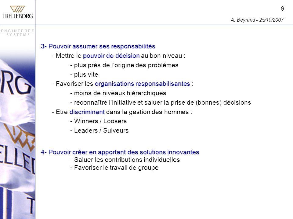 3- Pouvoir assumer ses responsabilités