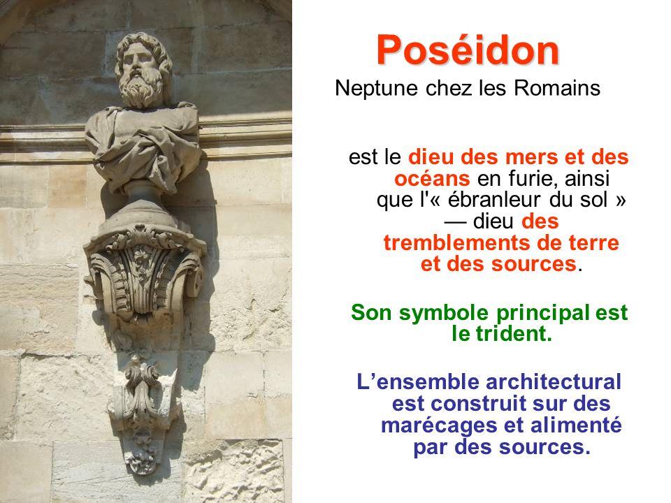 Poséidon Neptune chez les Romains