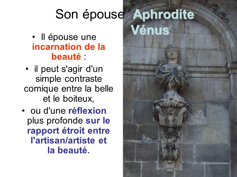 Son épouse Aphrodite Vénus