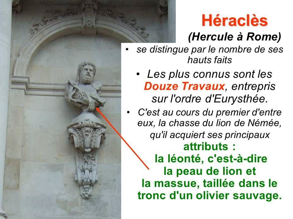 Héraclès (Hercule à Rome)