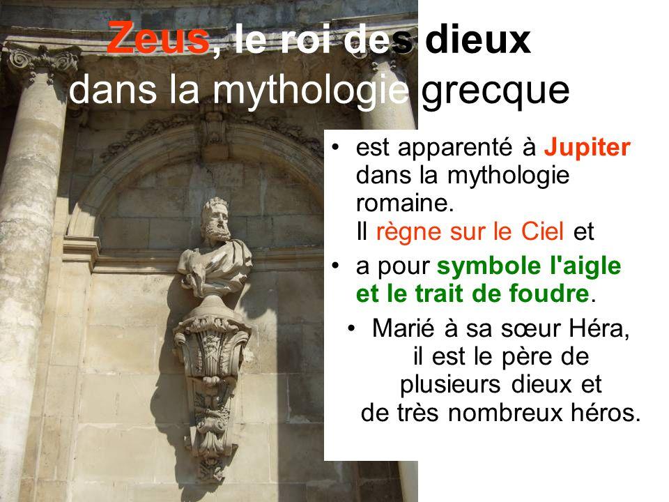 Zeus, le roi des dieux dans la mythologie grecque