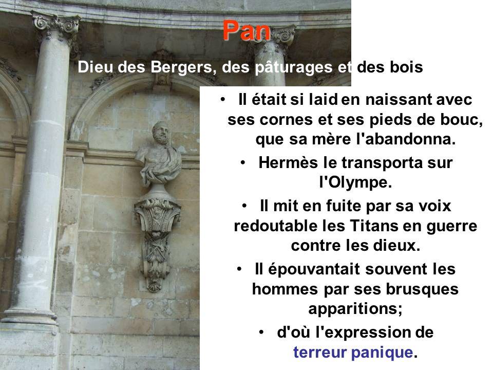 Pan Dieu des Bergers, des pâturages et des bois