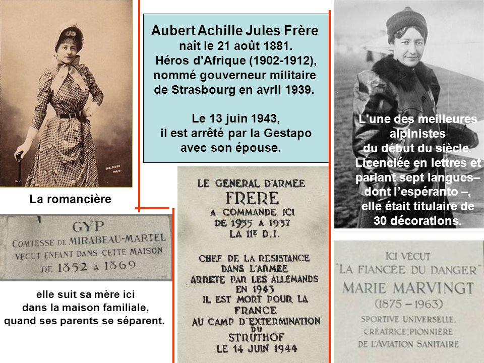 Aubert Achille Jules Frère naît le 21 août 1881.