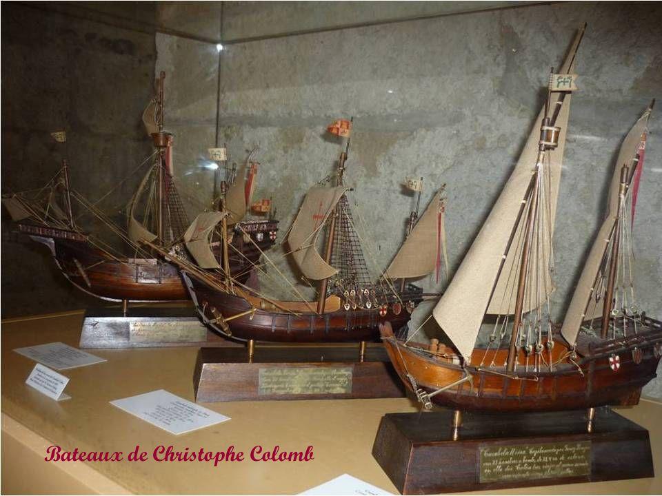 Bateaux de Christophe Colomb