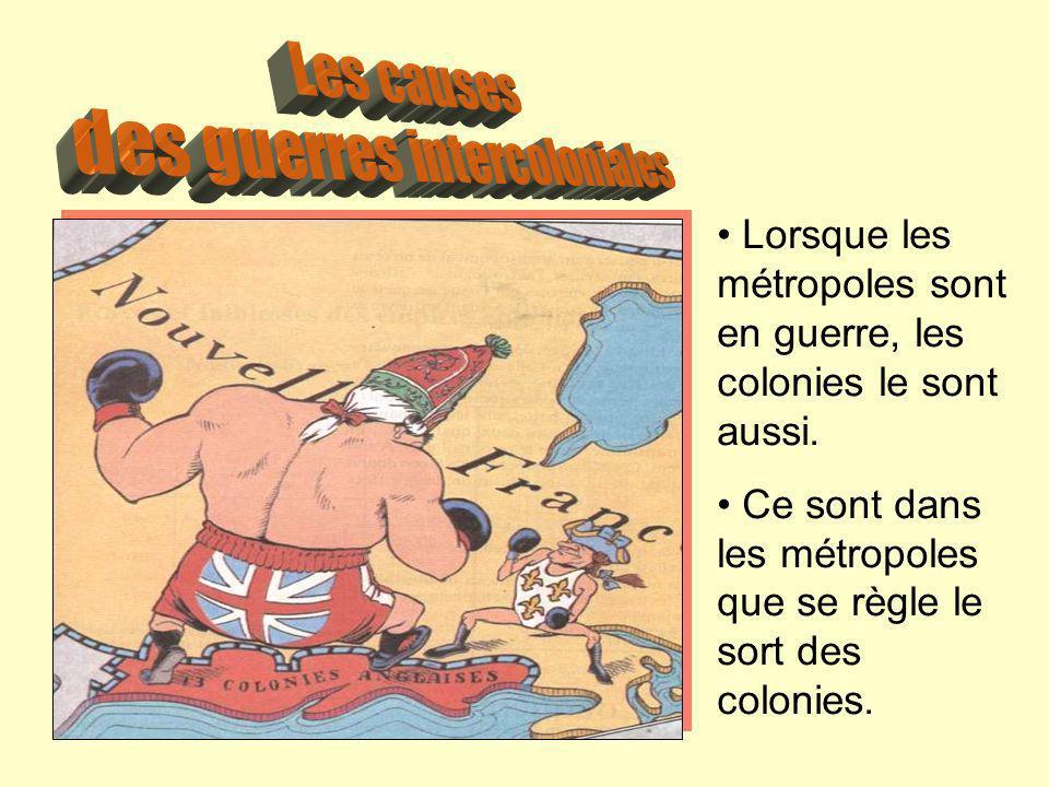 des guerres intercoloniales