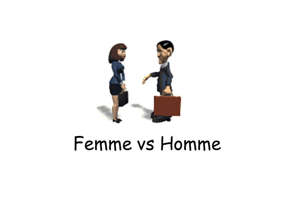 Femme vs Homme