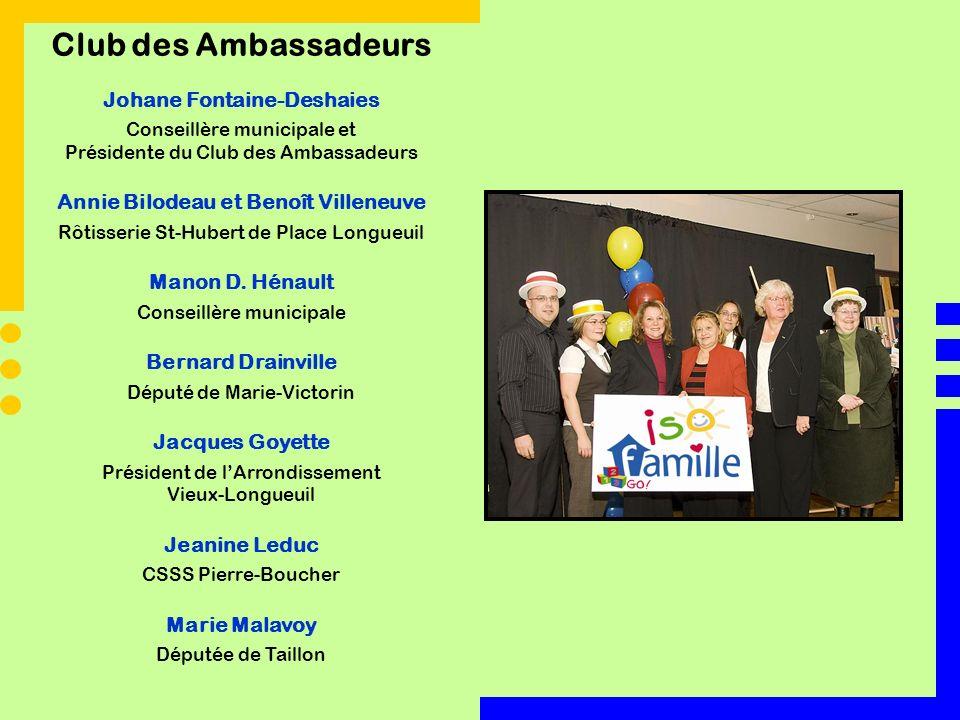 Johane Fontaine-Deshaies Annie Bilodeau et Benoît Villeneuve
