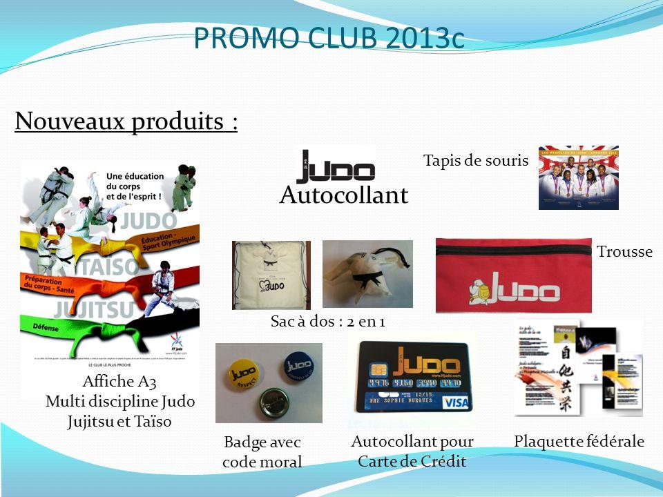 PROMO CLUB 2013c Nouveaux produits : Autocollant Tapis de souris