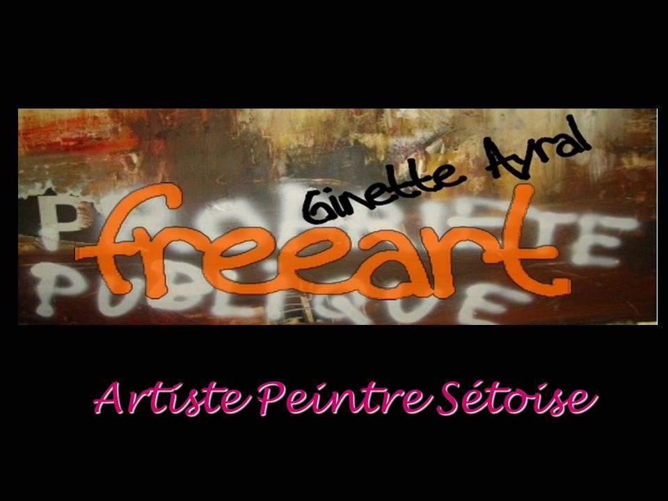 Artiste Peintre Sétoise