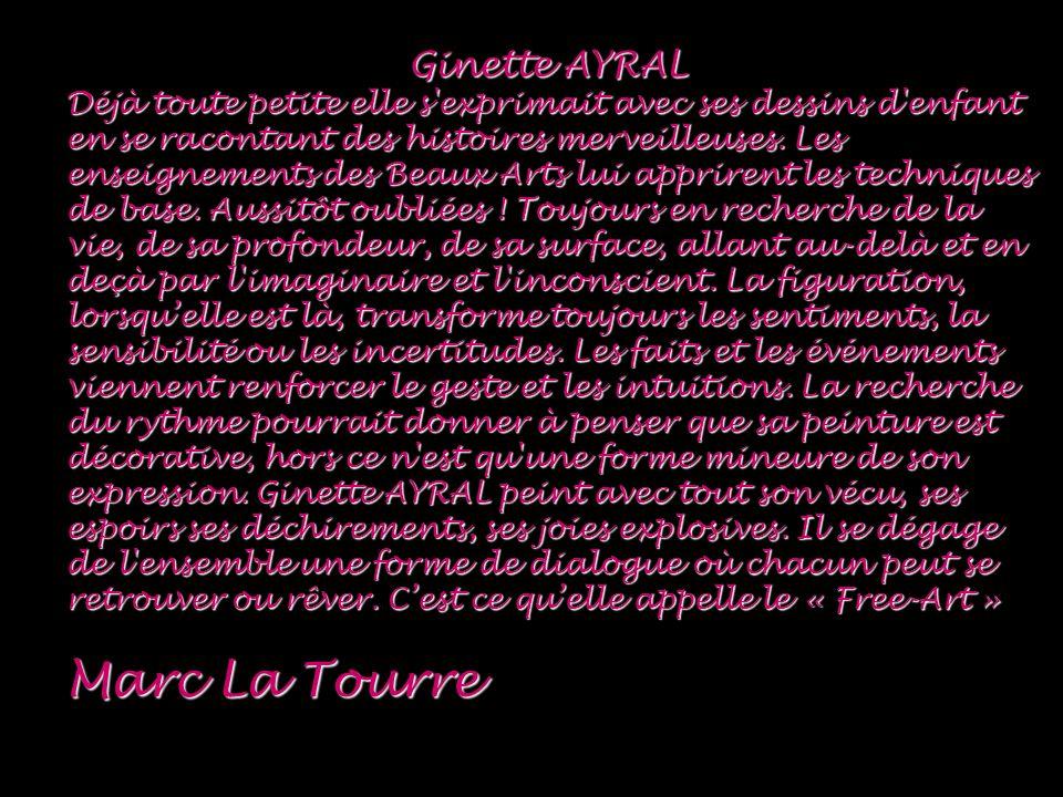 Marc La Tourre Ginette AYRAL