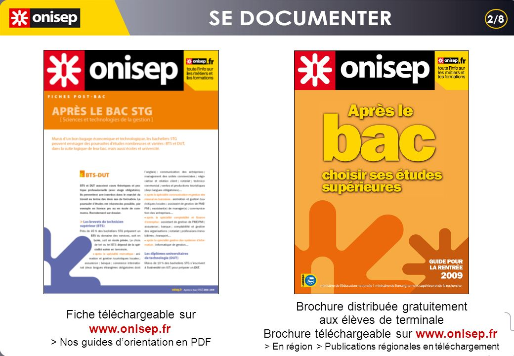 SE DOCUMENTER Brochure distribuée gratuitement