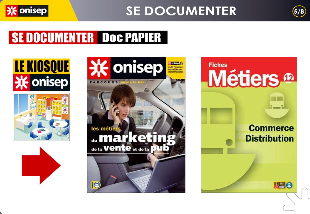 SE DOCUMENTER 5/8 SE DOCUMENTER Doc PAPIER