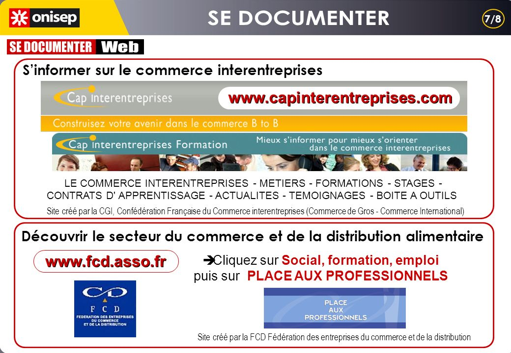 SE DOCUMENTER SE DOCUMENTER Web