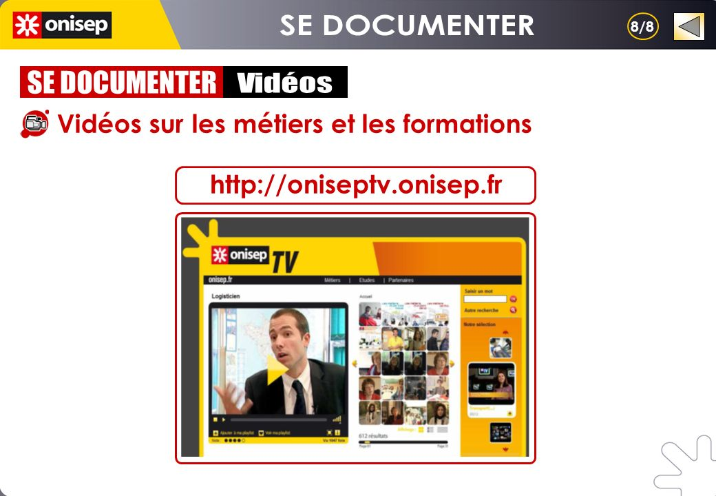 SE DOCUMENTER SE DOCUMENTER Vidéos