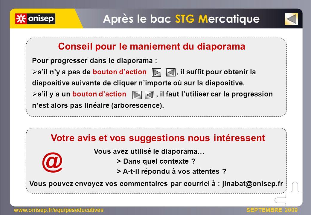 @ Après le bac STG Mercatique