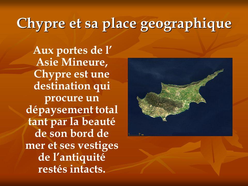 Chypre et sa place geographique